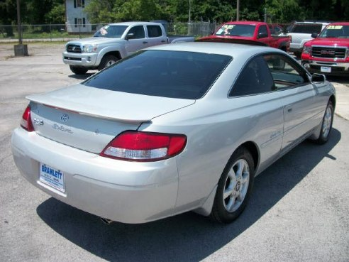 2000 toyota camry solara sle v6 for sale decatur al 3 0. Black Bedroom Furniture Sets. Home Design Ideas