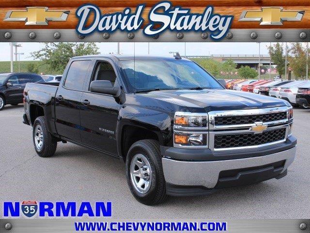 David Stanley Chevrolet Norman >> 2015 Chevrolet Silverado 1500 Work Truck for sale, Norman OK, 5.3L 8 Cylinder,Black - www ...