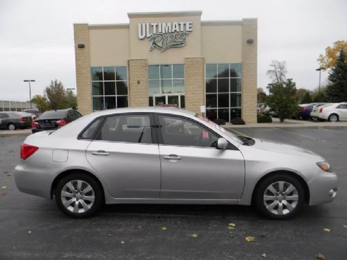 2009 subaru impreza awd 4dr sedan 5a for sale appleton wi h4 2 5l h4 cylinder siver www. Black Bedroom Furniture Sets. Home Design Ideas