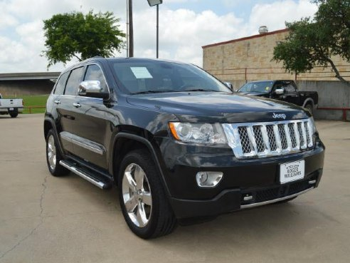 2012 jeep grand cherokee overland summit for sale weatherford tx 5 7 cylinder black www. Black Bedroom Furniture Sets. Home Design Ideas
